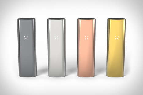 Sophisticated Vape Pens - Pax 3 Vaporizers Have Three Different Settings for Various Uses