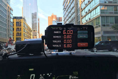 Smartphone Taxi Meters - Flywheel TaxiOS is Officially Sanctioned in Several American Cities