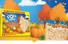 Kellogg's Pop Tarts Now Come in a Pumpkin Pie and Caramel Apple Flavors