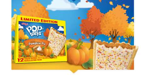 Autumnal Toaster Pastries - Kellogg's Pop Tarts Now Come in a Pumpkin Pie and Caramel Apple Flavors