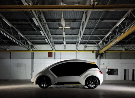 Shared Electric Cars - The 'Amber One' is Designed for Sharing Rather Than Ownership