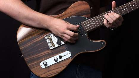 Tone-Tweaking Guitars - The Custom Collection 50 Deluxe Guitar Offers Four-Way Knob Switching