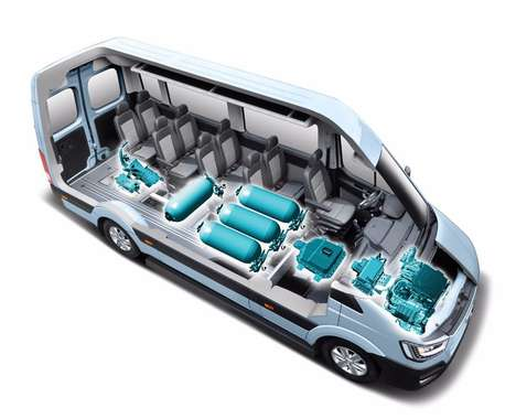 Fuel Cell Concept Vans