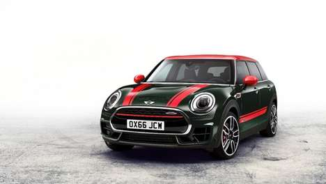 Turbocharged Miniature Cars - The JCW Clubman Car Offers Impressive Speed and Supreme Control
