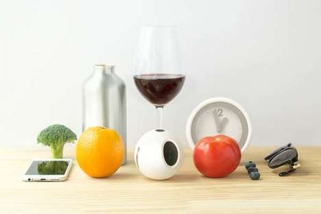 Spherical Nutritional Biosensors - The 'One X' is a Health Tracker That Monitors Antioxidant Levels