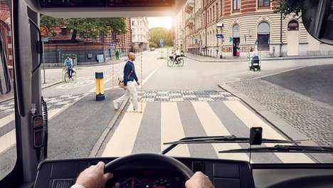 Sound-Centric Detection Systems - This Volvo System Uses Sound to Alert Cyclists and Pedestrian