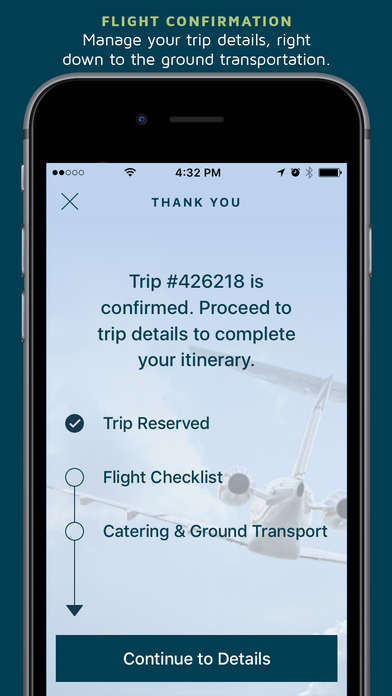 Charter Flight Booking Apps - This App Allows Sentient Jet Passengers to Quickly Book Private Travel