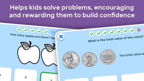 Interactive Math Apps - The 'Go Math! Go' App Improves Math Learning Through Positive Encouragement