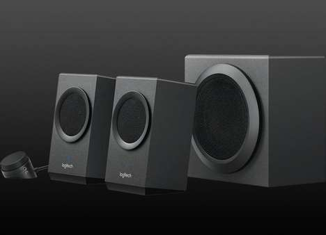 Multi-Device Speaker Systems - The Logitech Z337 Bold Sound Speakers Support Seamless Device Use