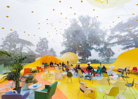 Inflatable Park Pavilions - This Inflatable Environment Was Created to Host a Playful Event