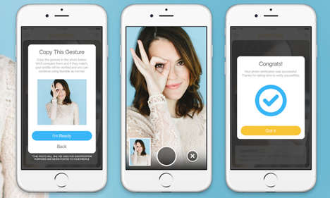 Selfie Profile Verifications - The Bumble Dating App Has Begun Authenticating Profiles with Selfies