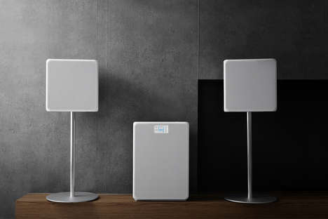 Comprehensive Home Air Purifiers - The 'MINI' Air Cleaning System Connects Wirelessly to Other Units