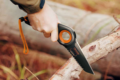 Shifting Ergonomic Knives - The Fiskars Hand Knife Concept Adapts for Different Activities