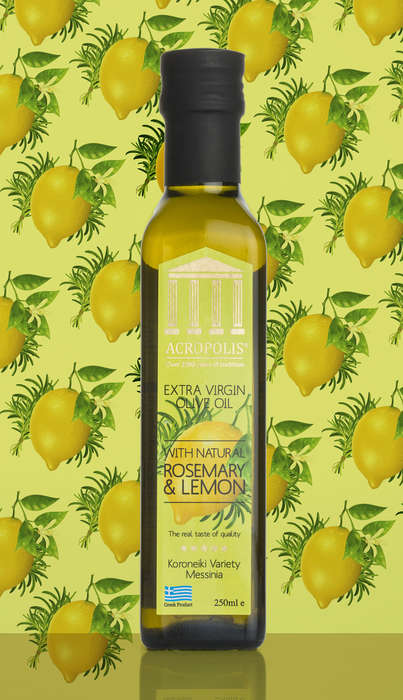 Flavor-Infused Olive Oils - Acropolis' Oils are Infused with a Variety of Natural Ingredients