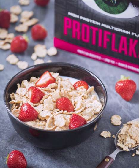 Protein-Rich Wholegrain Cereals - FUEL10K's Protiflakes Cereal is a High-Protein Breakfast Option