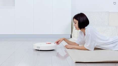 Smart Home Vacuum Robots - The Xiaomi Mi Vacuum Robot Scans Surroundings 1800 Times Per Second