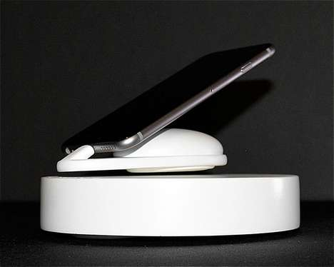 Levitational Smartphone Chargers - The Gryker 'Air Charge' Enables iPhones to Float Whilst Charging