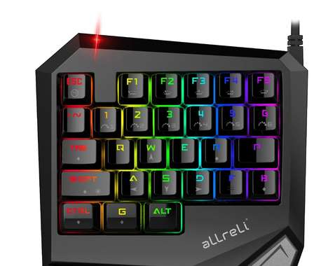 Single-Handed Gaming Keypads