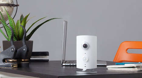 Adaptable Home Security Modules - The Piper NV's Simple Interface Can Accept Home Security Add-Ons