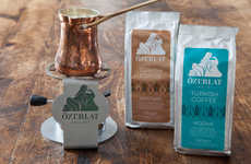 Artisanal Turkish Coffee Packaging