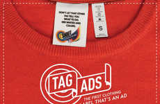 Clothing Tag Advertisements