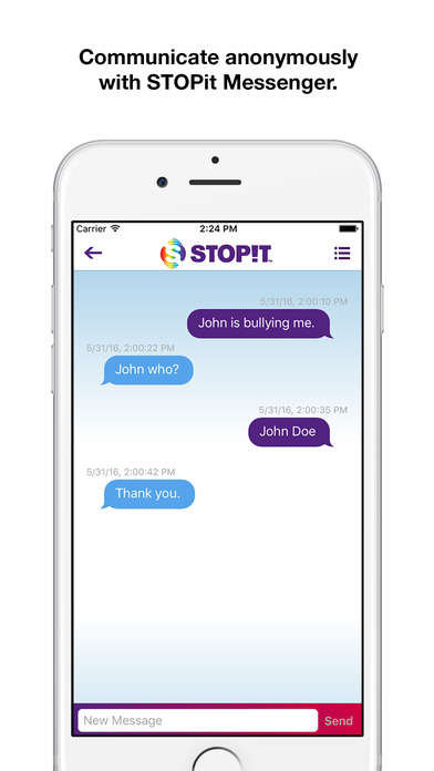 Organizational Bully-Reporting Apps - The STOPit App Helps Individuals Report Inappropriate Behavior