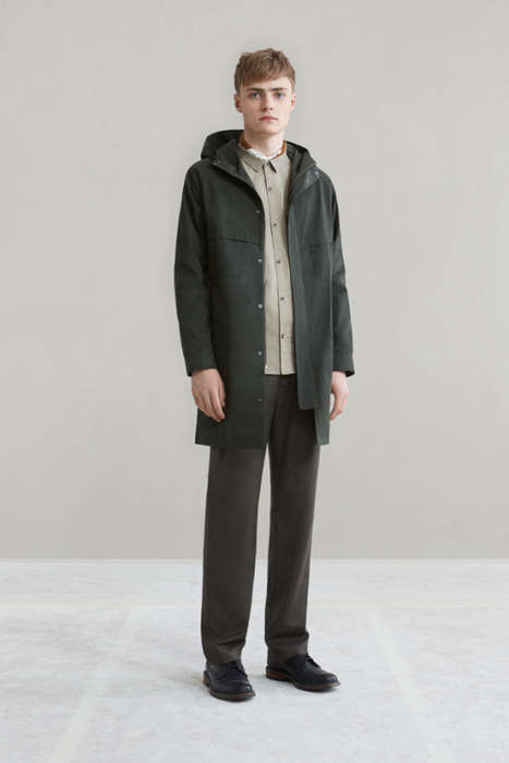 Clean-Cut Fall Clothing - Ouur's Fall Wear Revitalizes Basic Staples by Simplifying Them
