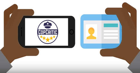 Police Accountability Apps - The CopCritic Service Lets Citizens Hold Police Accountable