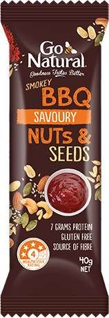 Savory Barbecue Bars - This Go Natural Nut and Seed Snack Bar Comes in a Smokey BBQ Flavor