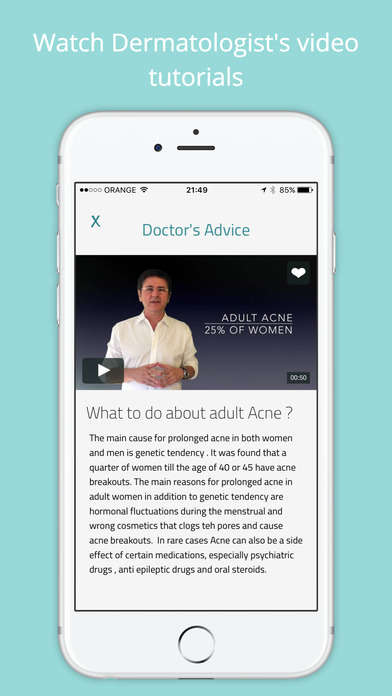 Adult Acne-Alleviating Apps - The MD Acne App Analyzes Selfies to Provide Acne-Fighting Advice