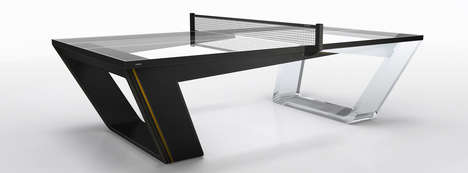 Luxury Ping Pong Tables - This Ping Pong Table is One of the Most Expensive in the World