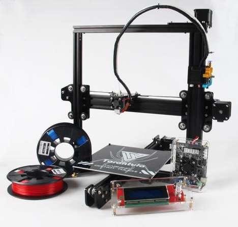 Optimized 3D Printers - This 3D Printer Kit Offers an Expansive Bed and Leveling Surface