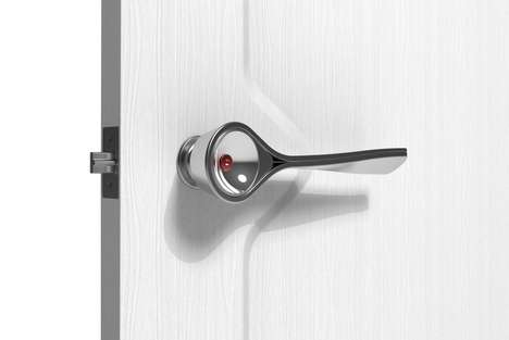 Fire-Detecting Door Handles - The 'Bleep' Door Knob Handle Whistles to Warn of Fire
