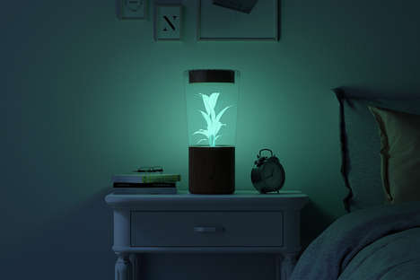 Bioluminescence Night Lights - The 'LUME' Lighting Solution Provides Natural Illumination