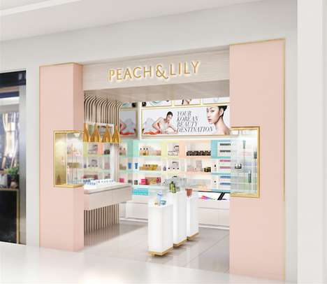 Cultural Beauty Boutiques - These Stores Feature Some of the Best Korean Cosmetics on the Market