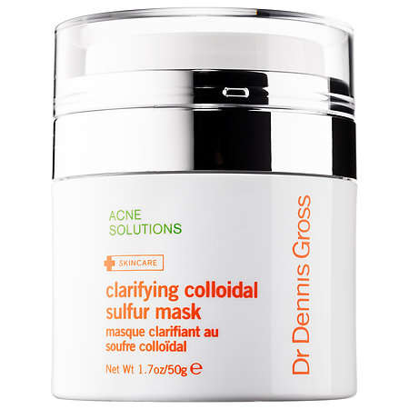 Acne-Clearing Sulfur Masks - This Mask from Dr. Dennis Gross is Worn Overnight to Revitalize Skin