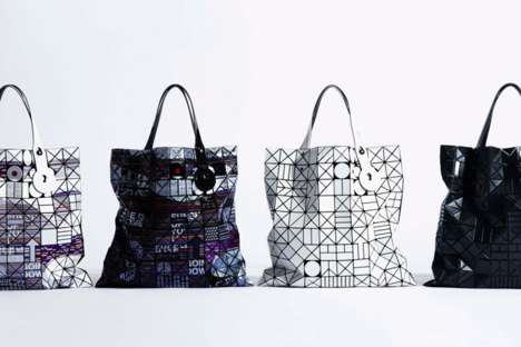 Stacked Geometric Purses - The Classic Bao Bao Bag Has Been Reinterpreted in a New Collection