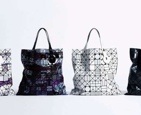 Stacked Geometric Purses