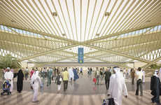 Winged Railway Termini - The 'Route 2020' Competition Decided Dubai's New Red Line Extension