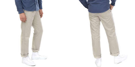 Jean-Inspired Sweatpants - The Alex Crane Bo Casual Pants are Comfortable Yet Stylish