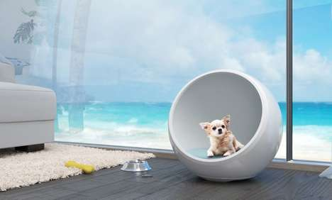 Climate-Controlled Pet Houses - The 'Aridus Den' Provides Warmth or Cooling for Pets