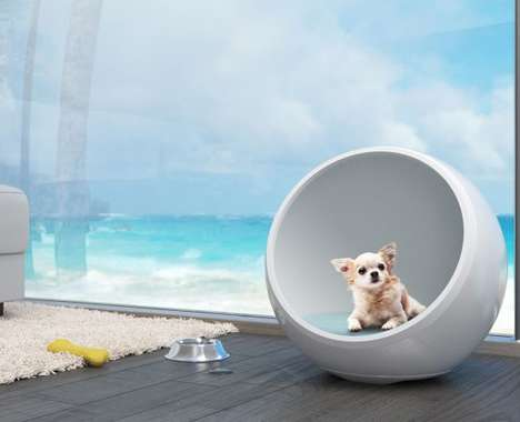 Climate-Controlled Pet Houses