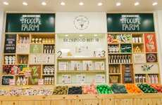 Wholesome Beauty Retailers - Skin Food's Queens New York Flagship Boasts Grocery-Inspired Displays