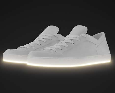 Minimalist Light-Up Sneakers