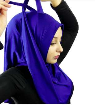 Functional Cultural Garments - The Convertible Wrap Hijab Can be Styled Twenty Different Ways