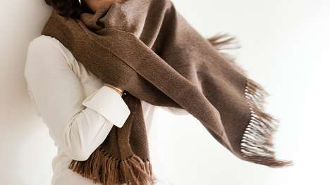 Rare Luxury Scarves - These Scarves are Made from the Precious Guanaco Fibre