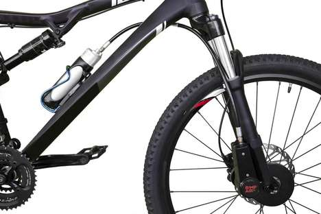 Comprehensive Compressed Air Systems - The Bimp Air Lets You Store Compressed Air For Your Bicycle