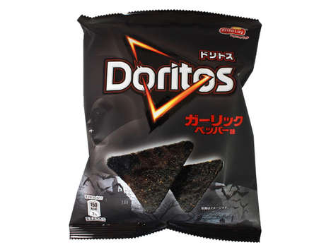Blackened Ghoul Chips - The Black Garlic Doritos Flavor Take Inspiration From Vampire Villains