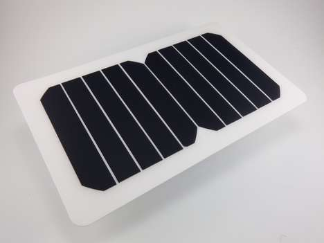 Lightweight Solar Chargers - This USB Solar Charger Can Juice Up Your Personal Electronic Devices