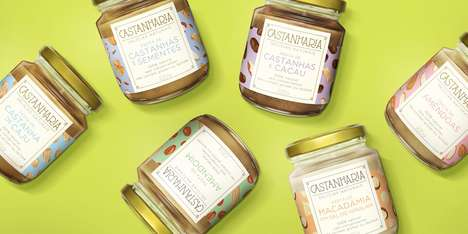 Alternative Nut Butter Jars - These Dynamic Nut Butters are Both Nutritious and Flavorful